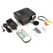 EY PRO HDMI Portable Mini LED Proyector Home Cinema Teatro De Animación Estándar De Los E.E.U.U-Negro