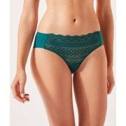 Etam Shorty en dentelle - APOLOGIZE - 36 - Bleu - Femme - Etam