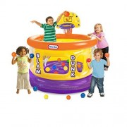 Slam Dunk Big Ball Pit with 20 Soft Balls, Multi Colored by Product Little Tikes.