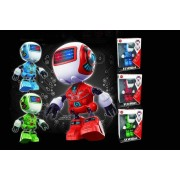 Cute Flashing Electric Robot Toy - 3 Colours!
