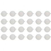 Bene LED 12w Round Slim Panel Ceiling Light Color of LED White (Pack of 24 Pcs)