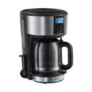 Cafetiera 20680-56 Buckingham, 10 cesti, timer programabil de 24 ore, 1.25 l, negru/argintiu