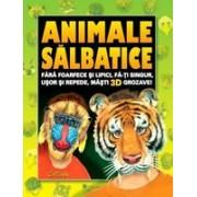 Cartea cu măşti: Animale sălbatice.