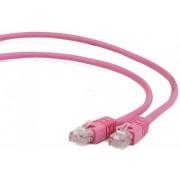 Cablu UTP Patch cord Gembird cat. 5E, 3m (Roz)