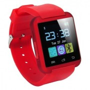 TSV U8 Bluetooth 4.0 For Android Smart Watch (Red))