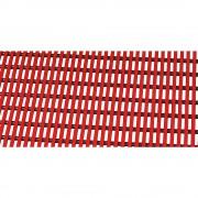 Bodenmatte für Dusch- und Umkleideraum Weich-PVC, pro lfd. m Breite 800 mm, rot