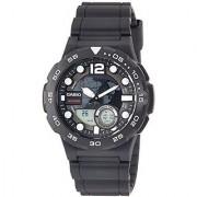 Casio Youth-Combination Analog-Digital Black Dial Mens Watch - AEQ-100W-1AVDF (AD204)