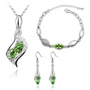 Set Swarovski GreenEternity