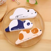 1 x cute Lazzy Animals correction tape material escolar kawaii stationery office school supplies papelaria 6M