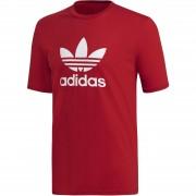 Tricou barbati adidas Originals Trefoil Tee Power Red DX3609