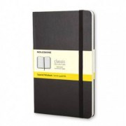 Unbranded Classic notebook pocket squared hard black