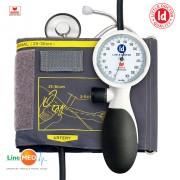 Tensiometru mecanic (aneroid) cu stetoscop Little Doctor LD-91 rezistent la socuri, manseta 25 - 36 cm