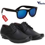 VitoriaStylish Formal Shoes With Free Fashionable Unisex Sunglasses Combo