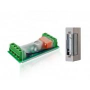 POPP Door Opener Kit: Z-Wave Door Controller + Door Opener (Strike Lock)