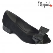 Pantofi dama din piele naturala 241503/058/SP-Negru/Dalia