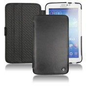 Samsung Galaxy Tab 3 7.0 P3200, P3210 Noreve Tradition Leren Tas - Zwart