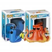 Set 2 piezas hank y dory Funko pop set disney pixar pelicula buscando a dory estreno 2016