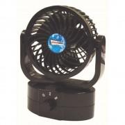 Ventilator auto Streetwize Cyclone 12V , oscilant, 16x16x11cm Kft Auto