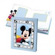 album portafoto con inserto in argento mickey mouse 20x25 cm
