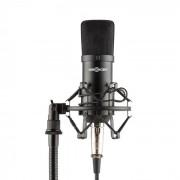 Mic-700 Microfone para Estúdio Ø34mm Suspensão Uni Tela de proteção XLR preto