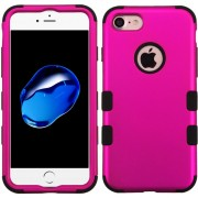 Funda Case Para IPhone 7 / IPhone 8 Protector Dobre De Uso Rudo - Hot Pink