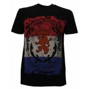 Nihon T shirt KM Fight for it NL heren zwart maat XXL