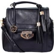Lino Perros LWHB01861BLACK (Nursery/Play School) Shoulder Bag(Black, 3 L)