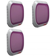 PGYTECH Pack de 3 Filtros para Mavic 2 Pro (ND128-256-1000)