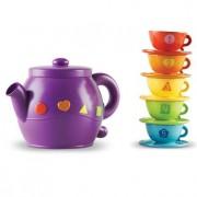 Set de ceai educativ cu forme geometrice pentru numarat Learning Resources