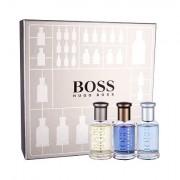 HUGO BOSS Boss Bottled Collection confezione regalo eau de toilette Boss Bottled 30 ml + eau de parfum Boss Bottled Infinite 30 ml + eau de toilette Boss Bottled Tonic 30 ml uomo