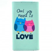 Capa tipo Carteira Universal Stylish - XL - Owl You Need Is Love