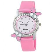 Varni Casual Analog Resin Round Pink Women's Watches