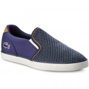 Гуменки LACOSTE - Jouer Slip On 118 4 Cam 7-35CAM0048ND1 Nvy/Dk Blu