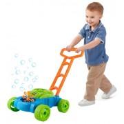 Masina de Jucarie pentru Tuns Iarba si Facut Baloane de Sapun pentru Copii