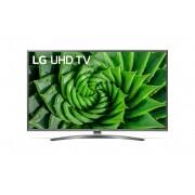 Televizor LED LG 43UN81003LB, 4K, 109 cm, Procesor Quad Core, Smart TV, CI+, Bluetooth, Wi-Fi, Clasa energetica A, Negru/argintiu