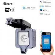 Made in PRC Inteligentná wifi vode-odolná zásuvka IP66 (eWelink)