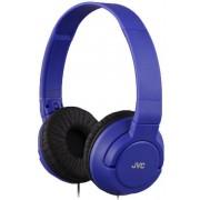 Casti Stereo JVC HA-S180, Jack 3.5mm (Albastru)