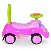 Masinuta fara pedale pentru fetite Pretty Pink