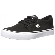 DC Men's Trase TX Unisex Skate Shoe Black/White 14 D(M) US