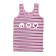 Lief! Girls Singlet 4521 Pink Stripe