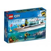 Set de constructie LEGO City Iaht pentru scufundari