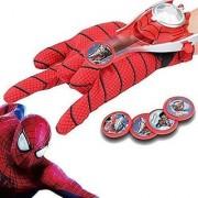 Jojoss Spider-man Play-set Gloves Disc Launcher for Kids 4+