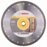 Диск диамантен за рязане Expert for Universal Turbo, 300 x 20/25,40 x 2,2 x 12 mm, 1 бр./оп., 2608602579, BOSCH