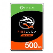 Seagate FireCuda 500GB Solid State Hybrid Drive Performance SSHD 2.5 Inch SATA 6Gb/s Flash Accelerated for Gaming PC Laptop Frustration Free Packaging (ST500LX025)