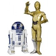Set 2 Figurine Star Wars C3PO & R2D2 ArtFX