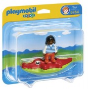 Playmobil 6764 with Child Crocodile Float