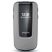 """Emporia COMFORT 6,1 cm (2.4"""") 92 g Nero, Argento Telefono di livello base"""