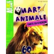 Mari animale - Carte cu stickere. Animal Planet