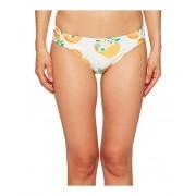 Kate Spade New York Capistrano Beach 57 Bikini Bottom w Smocked Sides White