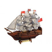 "Wooden Hms Bounty Tall Model Ship 7"" New Tall Ships From Movies And Televis"